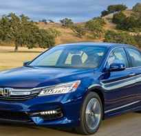 Honda Accord Hybrid 2017