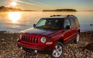 Jeep Patriot 2014 года